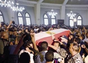 """""""سواق الأوتوبيس"""" يصل إلى محطته الأخيرة ملفوفاً بعلم مصر"""