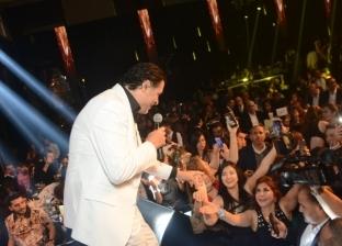 بالصور| راغب علامة يحيي حفلا غنائيا احتفالا بالكريسماس في القاهرة