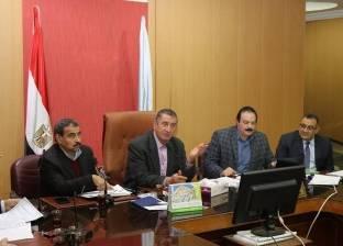 بالصور  محافظ كفر الشيخ يستعرض خطة تنفيذ المشروعات الاستثمارية