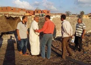 بالصور| حملة لإزالة التعديات على أملاك الدولة بكفر الشيخ