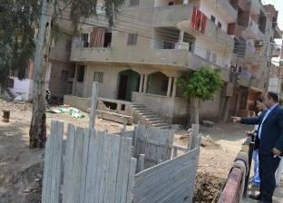 بالصور  مساعد محافظ كفر الشيخ يتفقد المرافق العامة بالقرى