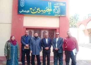 مسؤول بقطاع المعاهد الأزهرية يتفقد العملية التعليمية بالإسكندرية