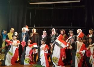 الحفل الفني الأول على مسرح كلية التربية جامعة عين شمس