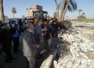 إزالة 574 حالة تعدٍ على أراضي الدولة بسوهاج