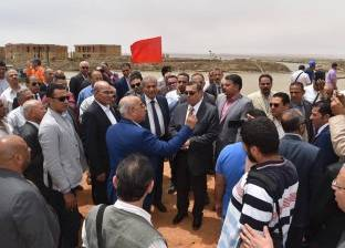 بالصور| افتتاح المرحلة الأولى لتطوير بحيرة قارون بتكلفة 13 مليون جنيه