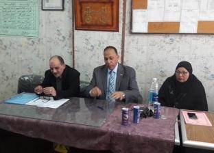 مقابلات شخصية للمرشحين للعمل بلجان امتحانات التعليم الفني بجنوب سيناء