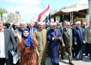 مسيرات حاشدة فى المحافظات لدعم التعديلات فى آخر أيام الاستفتاء