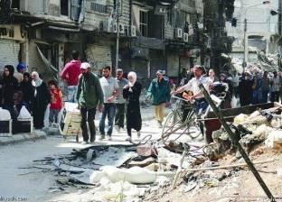 """في درعا السورية.. حضارات العالم منحوتة على صخرة """"الحب والسلام"""""""