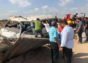 إصابة 12 شخصا في حادث أتوبيس على طريق إسماعيلية الصحراوي
