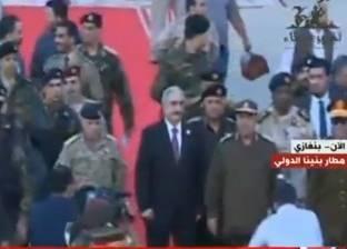 قائد الجيش الليبي: قصدت تأخير عودتي لبنغازي لاختبار قواتنا المسلحة