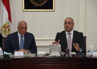 وزير الإسكان ومحافظ الجيزة يتابعان مشروع تطوير شارع محمد أنور السادات