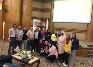 """طلاب""""صيدلة طنطا"""" في زيارة لمستشفى 57357 بالقاهرة"""