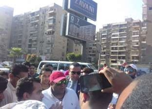محمد فؤاد يدلي بصوته في الاستفتاء على التعديلات الدستورية