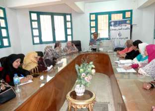 ورشة عمل لتدريب السيدات على ترشيد استهلاك المياه بسوهاج