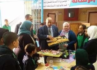 لجنة من إدارة المنتزه تتابع العملية التعليمية بـ4 مدارس