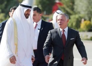 ولي عهد أبوظبي والعاهل الأردني يؤكدان متانة علاقات البلدين