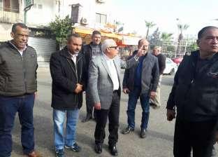 محافظ بورسعيد يأمر بتكثيف حملات إزالة الاشغالات بحي الزهور