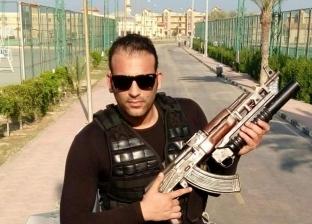 حزن بدمنهور لاستشهاد النقيب عماد مطاريد في حادث تصادم القنطرة شرق