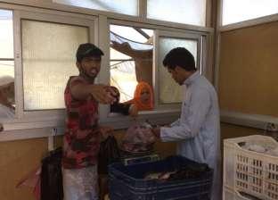 بالصور| بدو سيناء يتولون تسويق منتجات مزارع جهاز التعمير