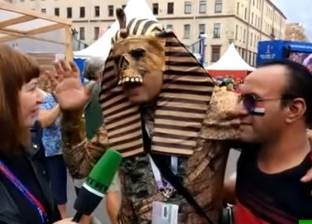 بالفديو| ماذا قال المصريون قبل مبارة منتخب مصر مع روسيا في كأس العالم؟