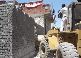 """""""وسط الإسكندرية"""" ينفذ 20 قرار إزالة تعديات على أراض أملاك دولة"""
