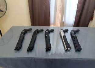 ضبط 12 قطعة سلاح و9 قضايا مخدرات في حملة بكفر الشيخ