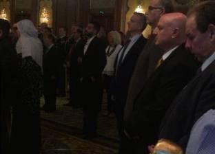 السفير الإسرائيلي يشارك بحفل سفارة صربيا في أحد فنادق القاهرة