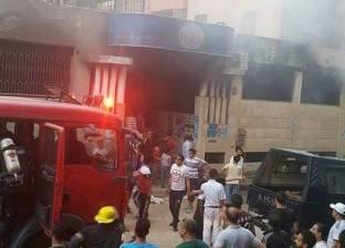 اندلاع حريق في شقة سكنية بـ مدينة بني سويف الجديدة