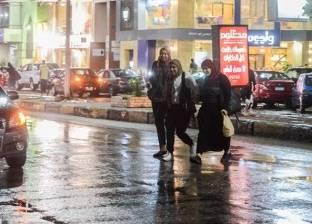 """""""الأرصاد"""": سقوط أمطار حتى صباح الجمعة.. ونصائح بتوخي الحذر في القيادة"""