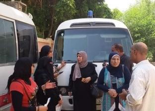 جامعة جنوب الوادي تنظم قافلة طبية بشرية بقرية الطويرات