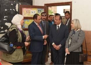 بالصور  بعثة الجامعة العربية تتفقد اللجان في الإسكندرية برفقة المحافظ