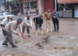 محافظ الغربية يوجه رؤساء مجالس المدن بشفط مياه الأمطار ونظافة الشوارع