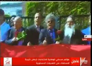 الجالية المصرية بألمانيا حاضرة في الفيلم التسجيلي لإعلان نتائج الاستفتاء.. ورئيسها: نشعر بالفخر