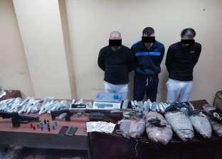 القبض على 3 أشقاء كوّنوا تشكيلا عصابيا للاتجار بالمخدرات في الدقهلية