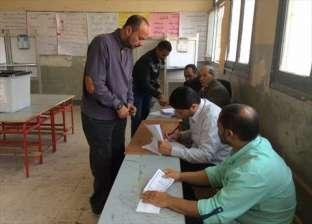 بالصور| إقبال متوسط على التصويت بمدرسة جيل أكتوبر الابتدائية في جنوب سيناء