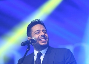 """محمد حماقي ينتهي من تسجيل أغنية لصالح المعهد القومي للأورام """"500500"""""""