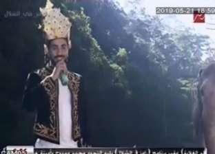 رامز جلال عن محمد الشرنوبي: مش عارف ماسك علينا زلة ولا إيه؟