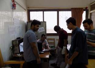 """إقبال كثيف على سحب استمارات الترشح لانتخابات """"اتحاد الطلاب كفر الشيخ"""""""