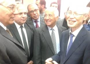 صاحب مصنع للسفير الياباني: المنافسة بالسوق المصري كبيرة لتعدد المنتجات