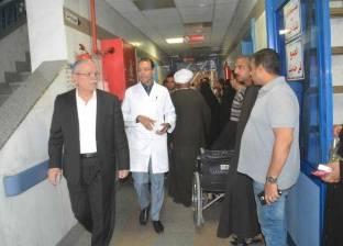 محافظ المنيا: 20 ألف جنيه لأسرة المتوفى بحادث المنيا و10 آلاف للمصاب
