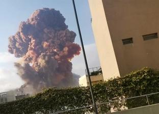 عاجل.. الدفاع المدني اللبناني يعمل على إخماد حريق مرفأ بيروت