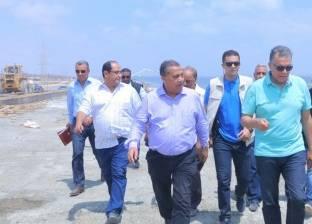 """وزير النقل: التشغيل التجريبي لكوبري """"برج العرب"""" قبل عيد الأضحى"""