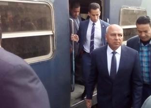 كامل الوزير: انتظام العمل بالسكة الحديد يضبط مواعيد قيام ووصول الرحلات