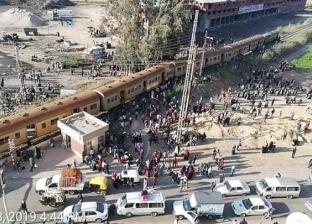 عاجل| انقلاب قطار في كفر الشيخ