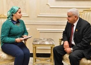 قائد سرية المشاة فى حرب أكتوبر: الأنفاق والمشروعات التنموية شرايين حياة فى سيناء