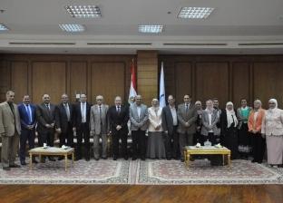 بالصور| جامعة كفر الشيخ تستضيف لجنة قطاع الصيادلة بالمجلس الأعلى للجامعات
