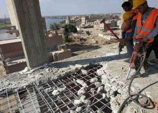 بالصور| تنفيذ 42 حملة لإزالة التعديات على أملاك الدولة بمحافظة الغربية