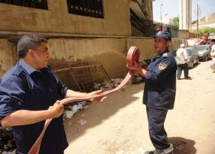 """""""الحماية المدنية"""" تسيطر على حريق نشب في استوديو بالجيزة"""