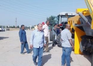تسليم مصنع تدوير المخلفات الصلبة بالعدوة في المنيا تمهيدا لتشغيله