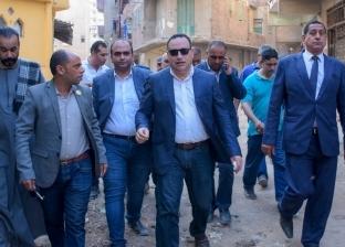 محافظ الإسكندرية في جولة مفاجئة لعزبتي الصيادين وتحت النخل بأبي قير